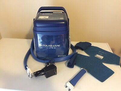 BREG Polar Care Cube Cold Therapy Machine with Knee wrap