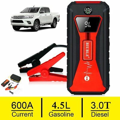 BIUBLE Heavy Duty 600A Jump Starter Pack Battery Car Power Bank Charger Booster