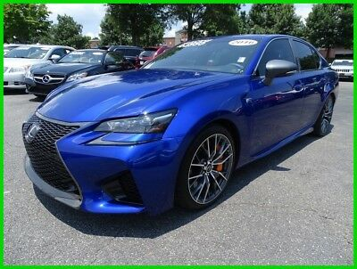 2016 Lexus GS F MARK LEVINSON GPS BACKUP CAMERA SUNROOF HEATED SEATS 2016 LEXUS GS F ULTRASONIC BLUE ONE OWNER CLEAN CARFAX WE FINANCE & TRADE