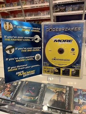 CODE BREAKER CODEBREAKER get More game Version 9 3 PS2 PlayStation 2 game  Codes