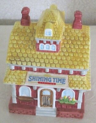 SHINING TIME STATION Cookie Jar - Thomas the Tank Engine - NEW in Box