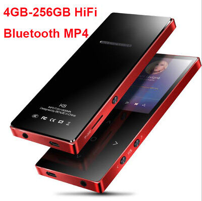 MP3 Player Portable Walkman MP4 Player 8GB-256GB Bluetooth Touchkey Music Player