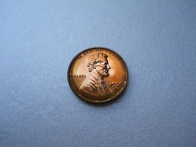 """""""Toning"""" 1970-S Lincoln Cent """"Small Date"""" Proof BU"""