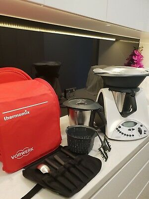 Thermomix tm31 With Second Bowl , carry bag,  and utensils