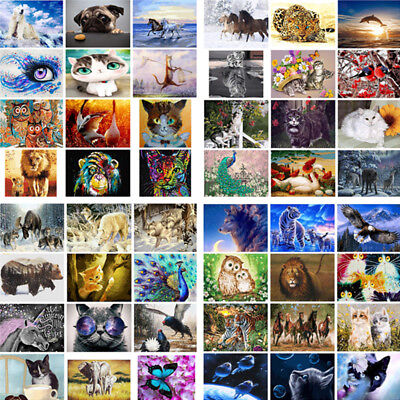 Animals DIY Paint By Numbers Kit Digital Oil Painting On Canvas Home Wall Decor