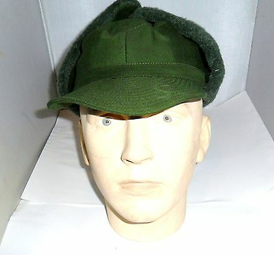 Genuine Swedish Army Military Issued Cold Weather Hat 57