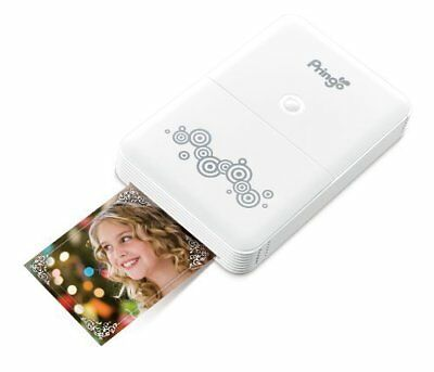 HiTi Pringo Pocket WiFi Photo Printer for Smartphone White