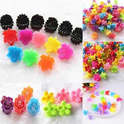 25Pcs Girls Kids Mini Small Flower Hair Claws Clips Clamps Hair Pin.Access TOP