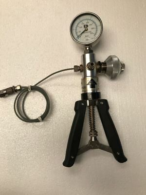 Ge Druck Pv211 Hand Held Test Pump/ Pressure Calibrator Pump (-0.85) To 40 Bar
