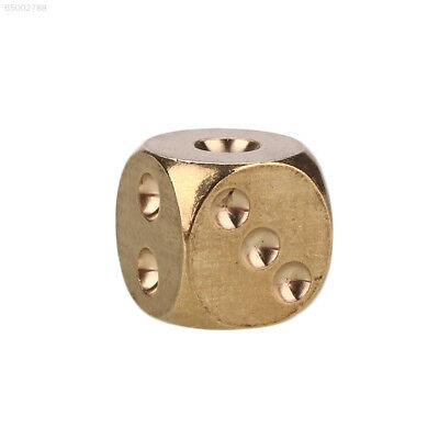 EEE6 Pure Copper Solid Dice Heavy Duty All Metal Shake Toys Recreation Mahjong T