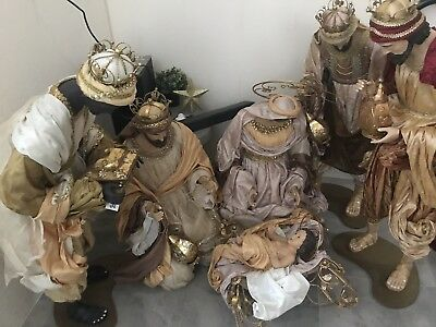 Christmas In July /large Nativity Scene Holy Family 5ft