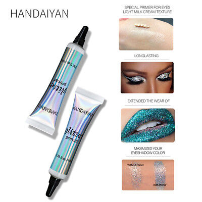HANDAIYAN Glitter Primer Eye Shadow Makeup Shimmer Long-lasting Eye Lip Cosmetic