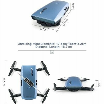 JJRC H47 Latest Foldable Drone Mini Selfie Drone FPV WIFI Camera RC Quadcopter