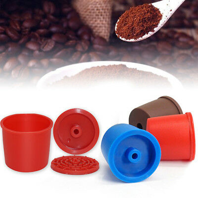 Portable Reusable Filter Refillable Capsule Cup Cafe Kitchen Drink Tools Reliabl