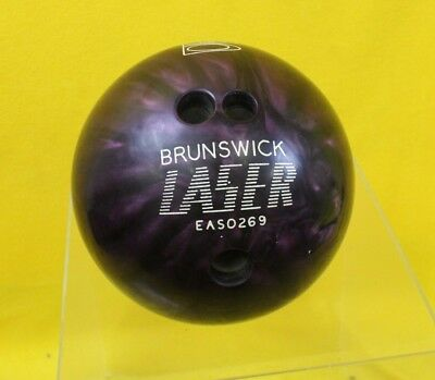 Brunswick Laser Bowling With Cleaning/Carry Bag #DAC WH JT