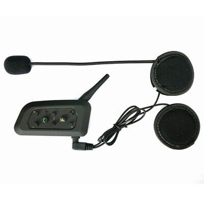 BT Bluetooth Motorrad Helm Interphone Intercom Headset V6 1200M 6 Fahrer