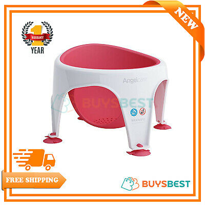 Angelcare Baby Bath Seat Red - Designed For Comfort - AC3130