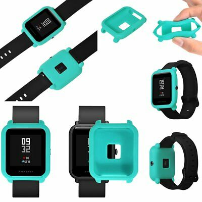 For Huami Amazfit Bip Youth Watch Silicone Protector Case Cover Protect Shell