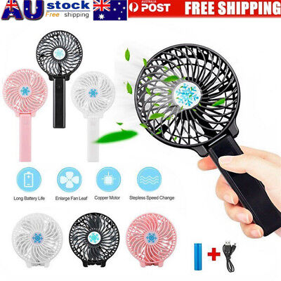 Mini Portable Outdoor Foldable Handheld Cooling Fan Rechargeable Air Cooler Fans