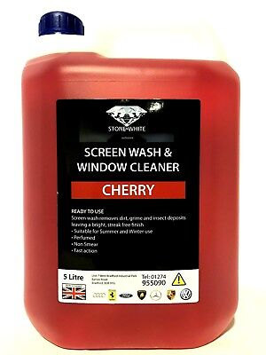 Cherry Fragrance Concentrated Screen Wash for Winter Arctic 5 Litres 5LTR