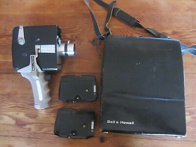 Vintage Bell And Howell Autoload Movie Camera With Case