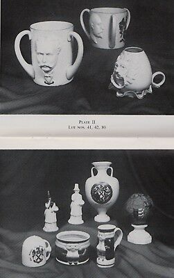 W H Goss China:  A Private Collection Auction Catalogue