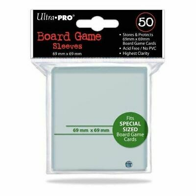 Board Game Sleeves: 69x69 mm - Brand New & Sealed