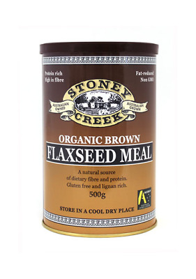 Stoney Creek Organic Brown Flaxseed Meal 150g