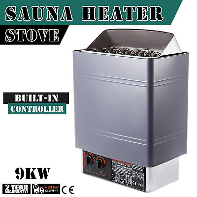 9KW Wet&Dry Sauna Heater Stove Internal Alluminum Alloy Over-Heat Protect
