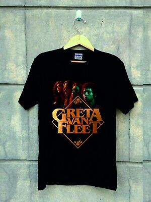 NEW Greta Van Fleet T-SHIRT 2018 LIMITED EDITION
