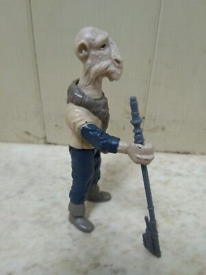 Vintage Star Wars Power of the Force -  Yak Face figure and weapon
