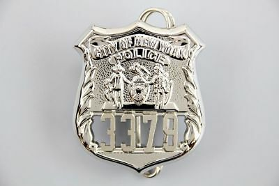 """US Police Badge City of NYPD Officer #3379 """"Third Watch"""" Maurice Boscorelli"""