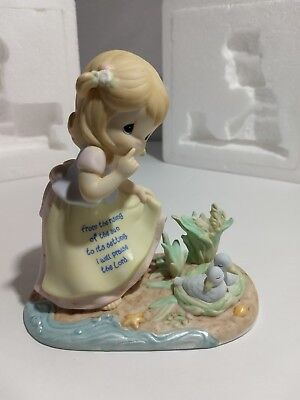 Precious Moments Children Of Faith Collection * Praise The Lord * Figurine ~Mint