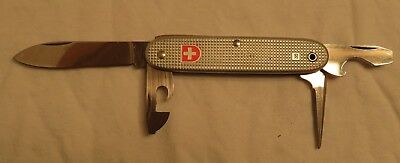 NEW WENGER DELEMONT Switzerland 83 VINTAGE 4 TOOL SWISS ARMY Pocket KNIFE
