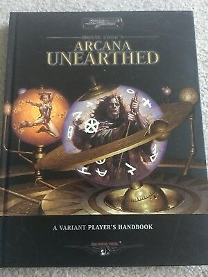 Monte cook's Arcana Unearthed - Sword & Sorcery