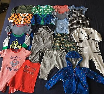 Baby Boy Clothes 6-9 months Huge Bundle Mixed Clothing Next, M&S