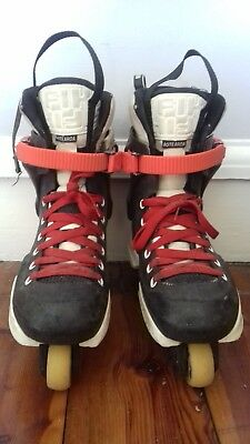 USD All Star classic throne rollerskates w/ Sifika liners