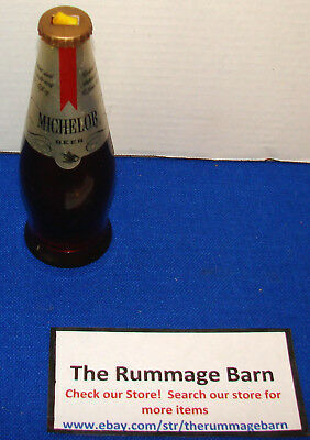vintage MICHELOB BOTTLE FLASHLIGHT ---  BEER advertising --- RARE FIND!