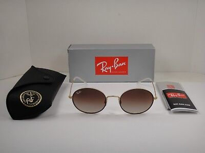 f0f2e6994 Ray-Ban Beat Sunglasses Rb3594 9115S0 Brown Gold/Brown Gradient Mirror Lens  53Mm