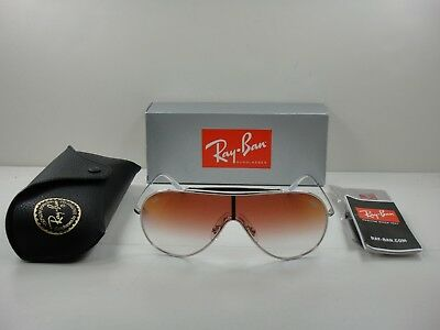 422f085f925 Ray-Ban Wings Sunglasses Rb3597 003 v0 Silver red Gradient Mirror Lens 33Mm