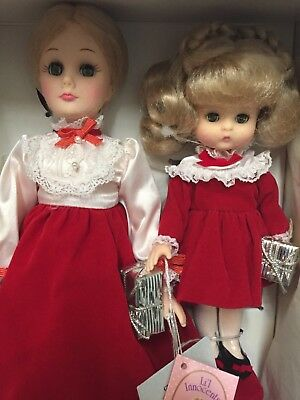 NEW IN BOX..1988 Effanbee..'CHRISTMAS EVE TOGETHER' with Mom and Patsy Ann Dolls