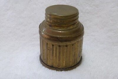 Spare Base and Lid for Justrite Carbide Miners Cap Lamp, Tall Size