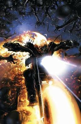 GHOST RIDER #1 Clayton Crain VIRGIN Exclusive Cover NM+