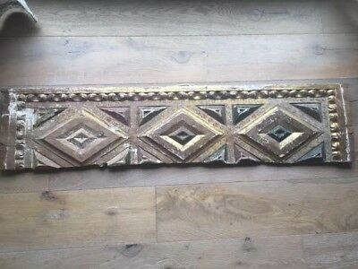 ANTIQUE FRENCH Decorative Panel,c.19th Century,Salvaged from PARIS CHATEAU