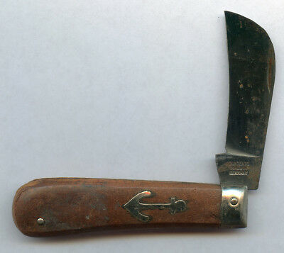 Contento Made In Germany Vintage Very Old Pocket Knife Rare Os.