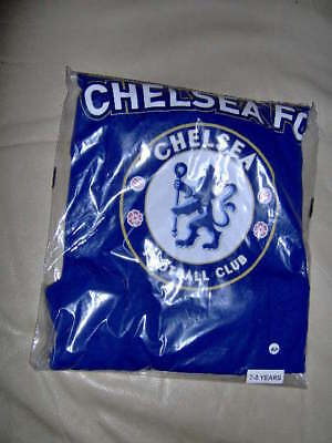 Boys/Teens Chelsea Pyjamas Choice Of Two  - Ages 3/4 - 13 Years Blue