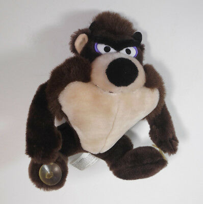 Looney Tunes Tasmanian Devil TAZ w/suction cups plush stuffed animal toy (WB)