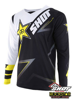 Shot Rockstar Energy Motocross Jersey Husqvarna Factory Racing 3.0 Replica
