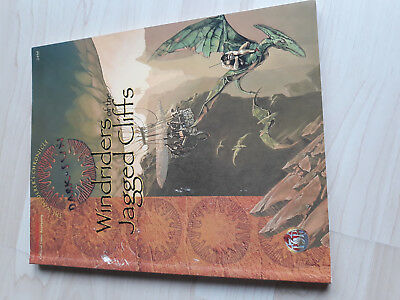 AD&D The Wanderer´s Chronicle Dark Sun-Windriders of the jagged Cliffs- TSR 2439