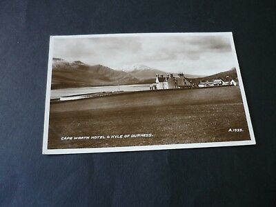 Cape Wrath Hotel & Kyle of Durness, Real Photographic postcard